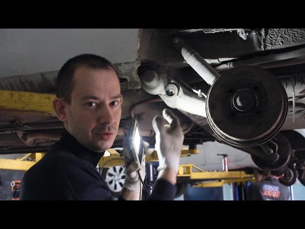 Как менять торсион в 4-хторсионной балке Рено Кенгу - Автоканал Vovka-62