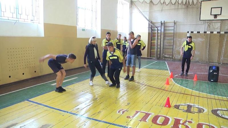 Центр Спорт для всіх. Спортивні змагання для студентів ліцею та медучилища
