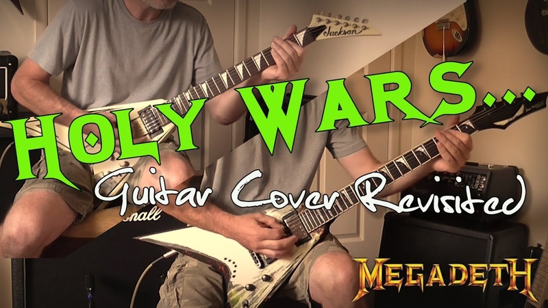 Megadeth - Holy Wars... The Punishment Due Guitar Cover (Original Drum Bass Used)