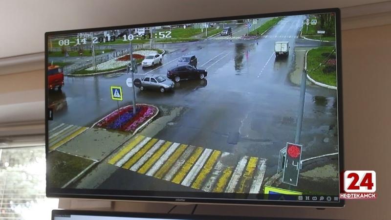 Безопасный город В Нефтекамске установлены 25 камер видеонаблюдения