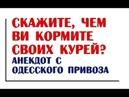 Скажите, чем ви кормите своих курей? | Одесский анекдот