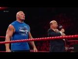 Brock Lesnar wreaks havoc on Miz TV_ Raw, Aug. 7, 2017