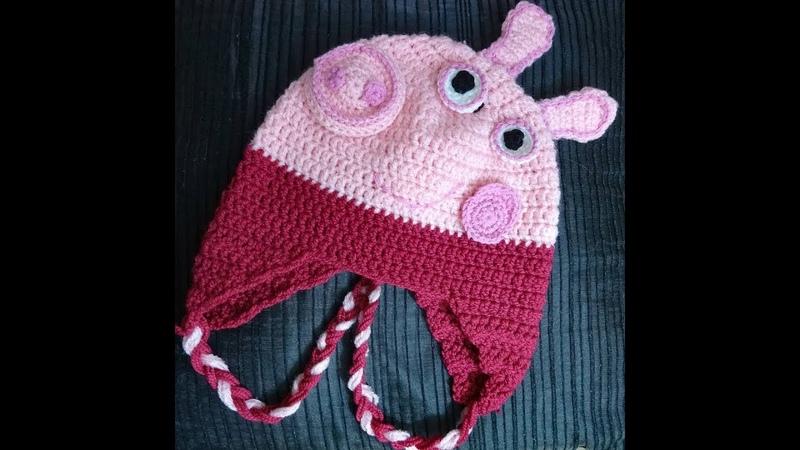 Bonnet Peppa Pig 3 à 4 ans Partie 2/2