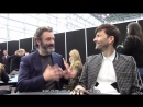 Good Omens - Michael Sheen and David Tennant Interview (NYCC) RUS SUB
