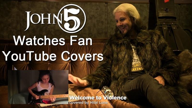 JOHN 5 Watches Fan YouTube Covers | MetalSucks