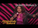 Vicki Barbolak Hilarious Comedian Chats About Being 'Trailer Nasty' America's Got Talent 2018