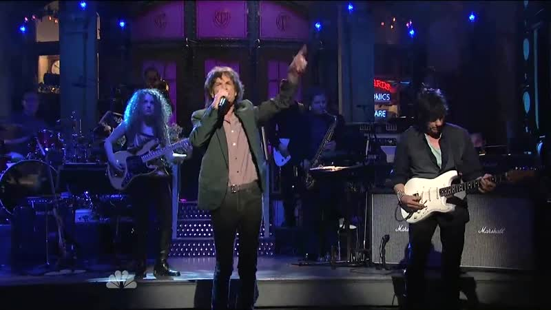 MICK Jagger JEFF BECK Tal Wilkenfeld - The West Wing Blues (On Saturday Night Live 2012)