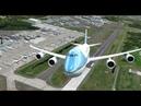 Борт номер 1 Новый Boeing 747 8 от PMDG