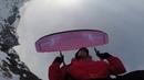 Спидфлай полет с Эльбруса (Обсерватория) Speedflying from Elbrus