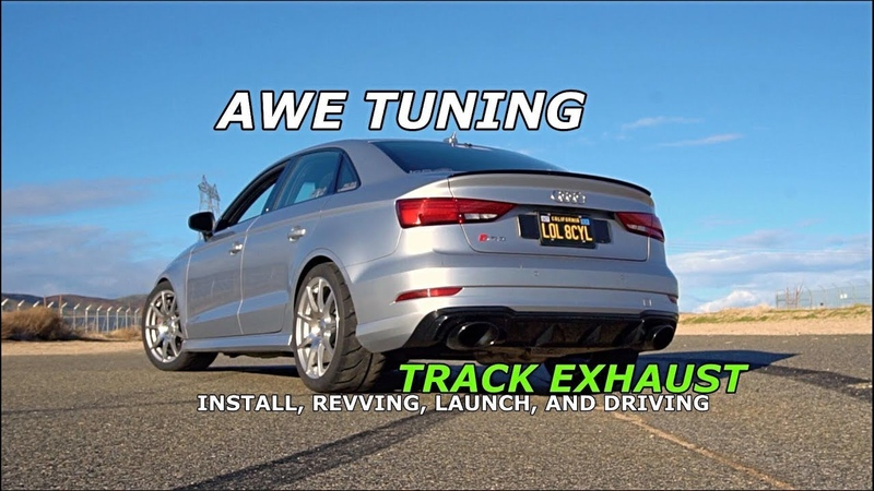 AUDI RS3 AWE TUNING TRACK EXHAUST | TURN VOLUME UP |