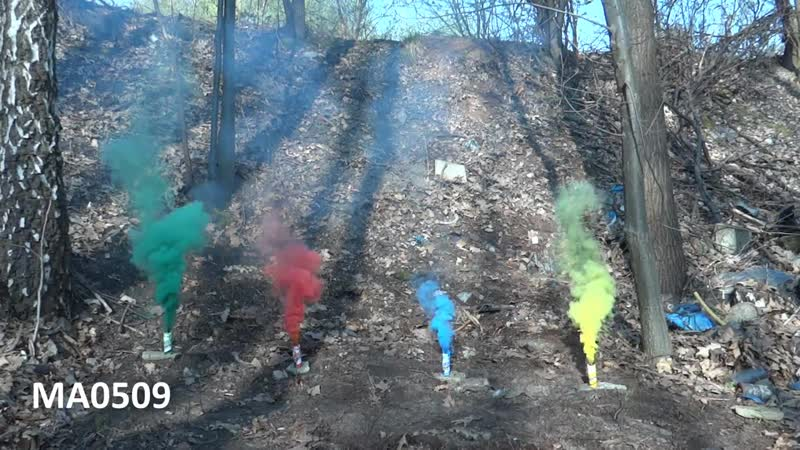 Цветной дым ma0509 «smoking fountain»