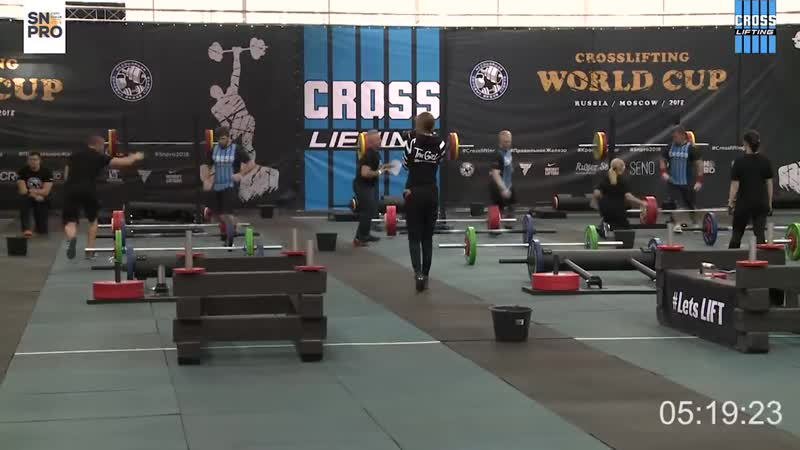 Кросслифтинг мужчины 90 кг ЧМ 2018 год