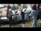 Girls gotta go - public piss