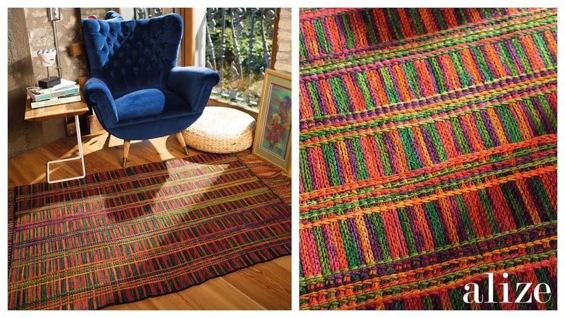 Kilim Yapımı - Making Rug (Ekstra Folklorik Batik)