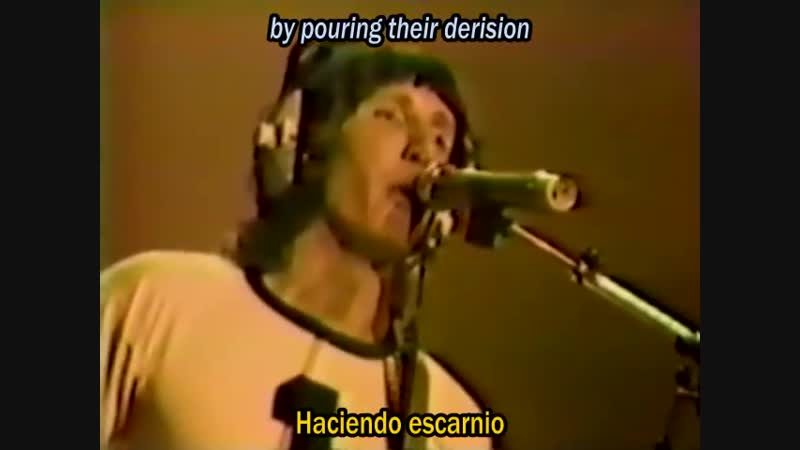 Pink Floyd (1980) - Another Brick in the Wall (Live) (Subtitulos Inglés-Español)