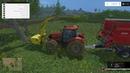 С Антоном заготавливаем щепу.Лицензия Farming Simulator 2015