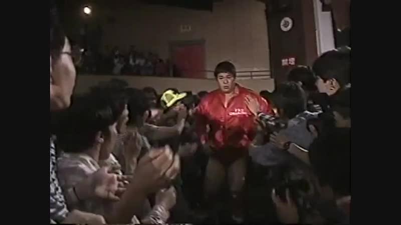 1994.05.31 - Kenta KobashiMitsuharu MisawaTsuyoshi Kikuchi vs. Akira TaueGiant BabaToshiaki Kawada