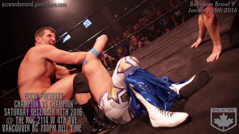 ECCW MOTW The Bollywood Boyz (c) Vs The West Coast Express for the GFW Tag Team Championship