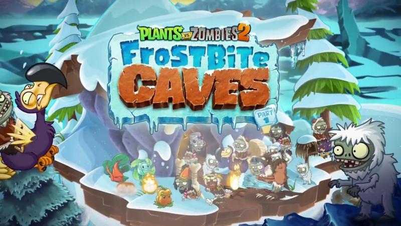 Plants vs Zombies 2 Frostbite Caves Part 1