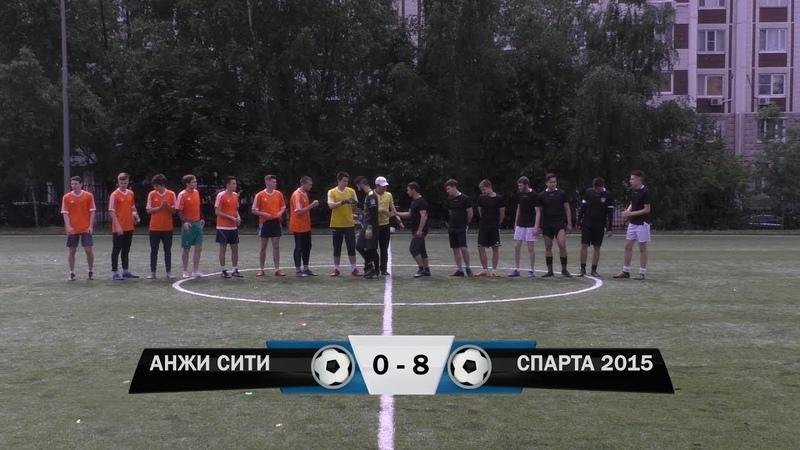 Анжи Сити 0 - 8 Спарта 2015 (Обзор матча)