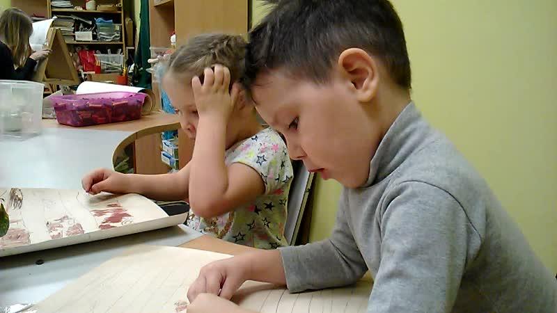 Матвей и Марина в Творческой мастерской на Ленина 162-а,44-75-09