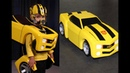 Bumblebee Costume DIY Tutorial Part 1 of 4 - Best Transformers Costume Ever