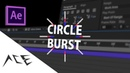 After Effects Tutorial - Motion Graphics Circle Burst