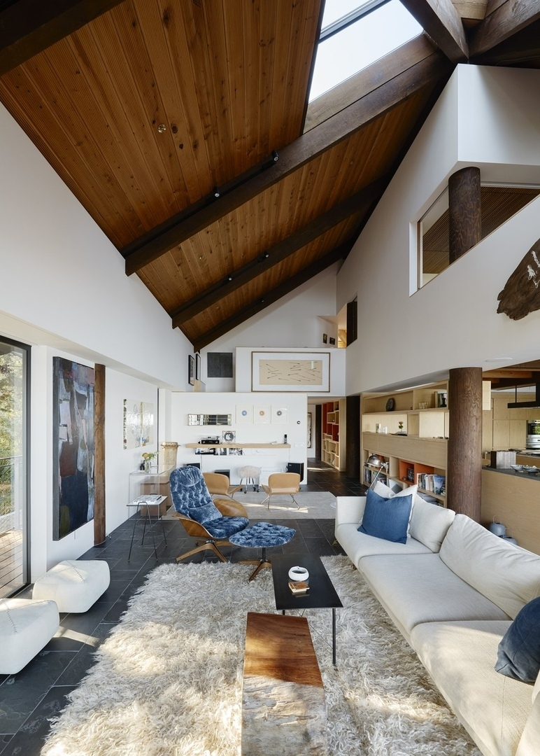 You'd Never Guess This Japanese-Style Home in Tiburon Is a Kit House SHED Architecture