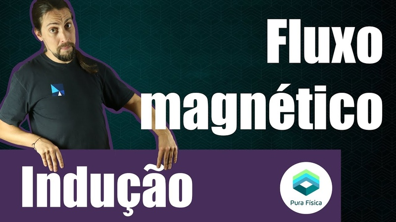 Física - Indução eletromagnética: Fluxo de campo magnético