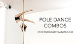 Pole Dance Combos to Banks - Wolfpack (Intermediate Advanced, Static &amp Spinning Pole)