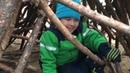 Игры в парке. Веселое детство. Развлечения детей на свежем воздухе. Незабываемая прогулка.
