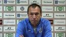 Пресс конференция после матча Салют Белгород Строгино Сергей Загидуллин