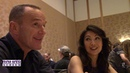 Marvels AGENTS OF S.H.I.E.L.D Roundtable Clark Gregg and Ming-Na Wen