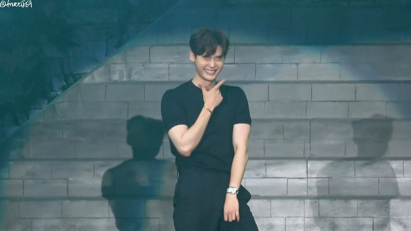 10/09/17 Lee Jong Suk - New Face 댄스 직캠