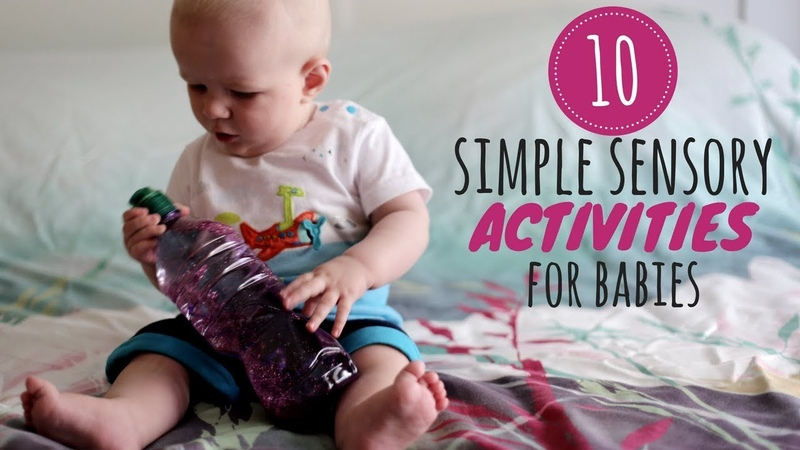 10 Simple Sensory Activities for Babies | DIY Baby Entertainment