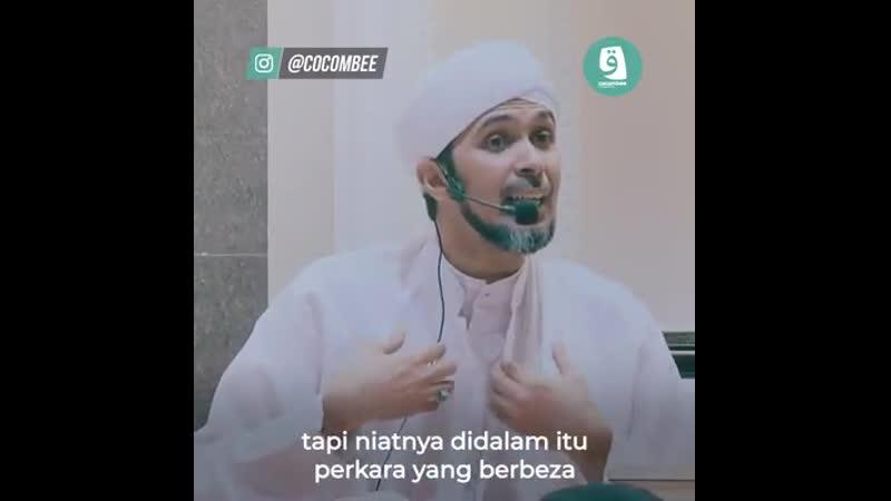 Habib Ali Zaenal Abidin Hebatnya kekuatan niat
