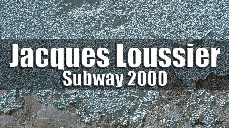 Jacques Loussier Trio - Subway 2000
