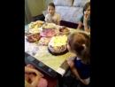 день рожденья у моей любимой дочки