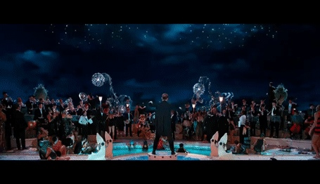 The Great Gatsby - The First Time We See Gatsby Scene - Create, Discover and Share Awesome GIFs on G