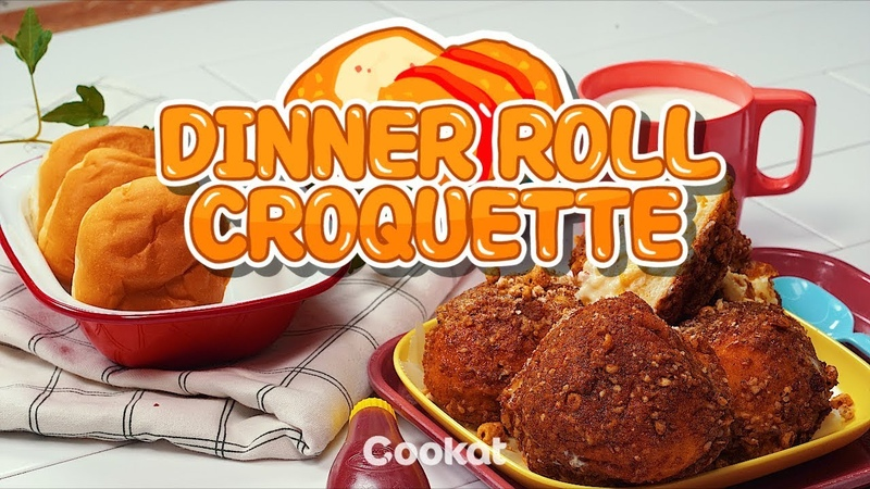 [COOKAT] Dinner Roll Croquette