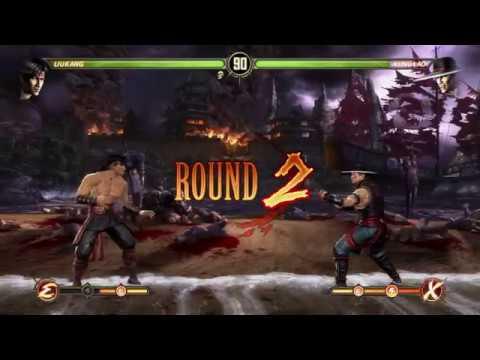 Лю Кенг против Кунг Лао МК9