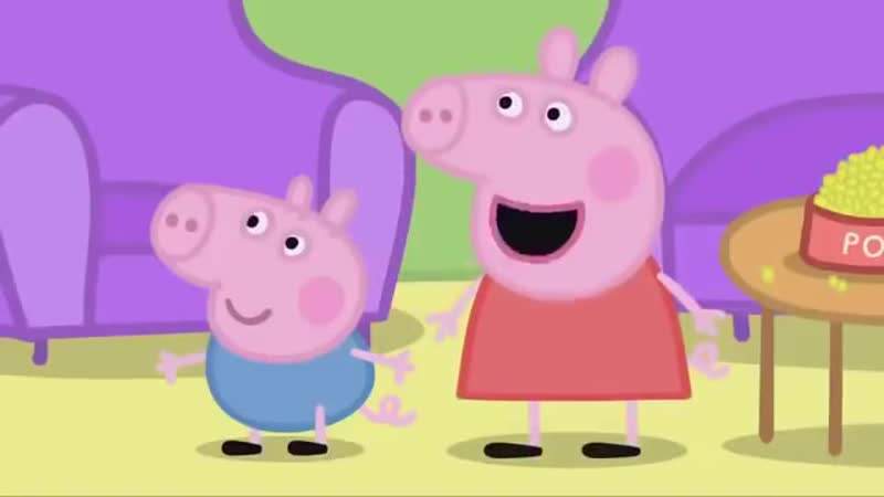 Свинка Пеппа с матами