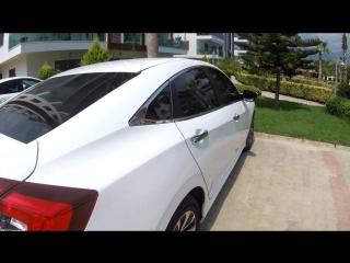 Honda Civic 2018. Daria Chashina