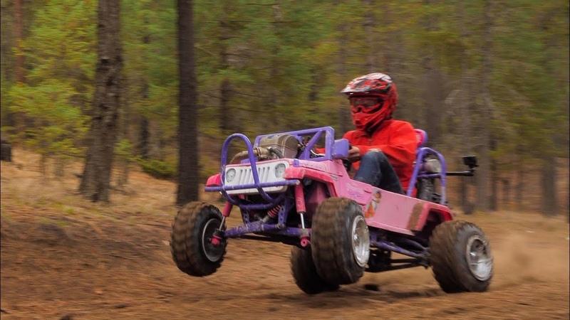 50HP Barbie Jeep Full Send