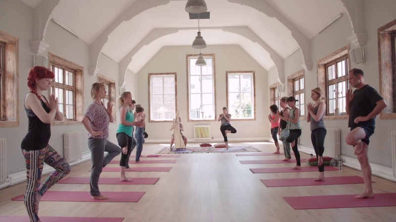 Amazing Harp Yoga In 2 mins listen to what the yoga teacher, harpist and students have to say!