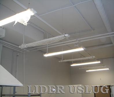 Установка светильников – фото 1