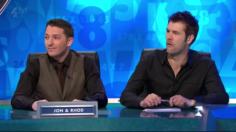 8 out of 10 Cats does Countdown S01E01 (12.04.2012)