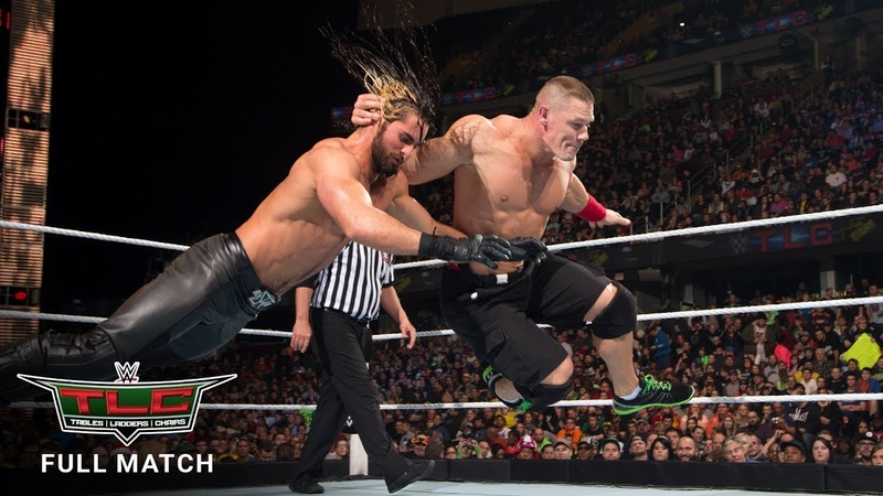 FULL MATCH - John Cena vs. Seth Rollins - Tables Match WWE TLC 2014 (WWE Network Exclusive)