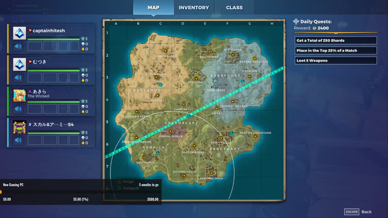 Playing Realm Royale   Level Up Squad   India