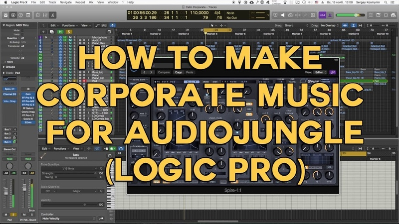 How to make Corporate Music 6 for Audiojungle (Logic Pro)